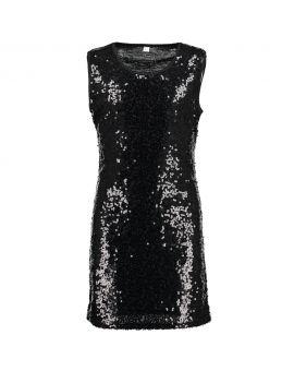 Tiener jurk Zwart