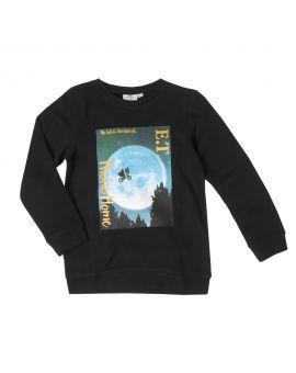 E.T. Meisjes sweater Zwart