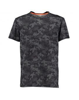 Jongens sport T-shirt Zwart