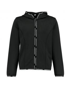 Tiener vest Zwart