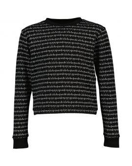 Meisjes sweater Zwart