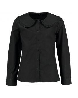 Meisjes blouse Zwart