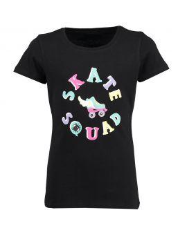 Tiener T-shirt Zwart