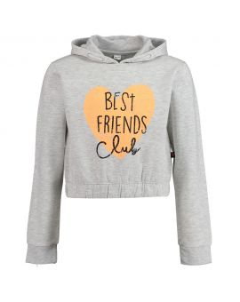 Meisjes sweater Lichtgrijs