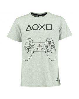 Jongens T-shirt Lichtgrijs