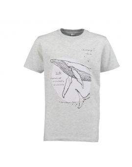 Tiener T-shirt Grijs