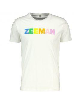Zeeman T-shirt Wit