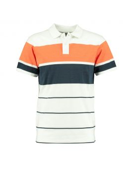 Heren polo Wit