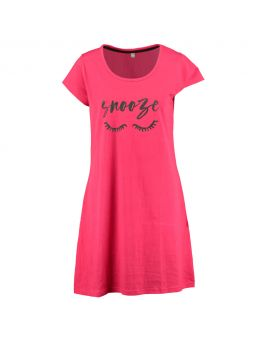 Dames nachthemd Rood
