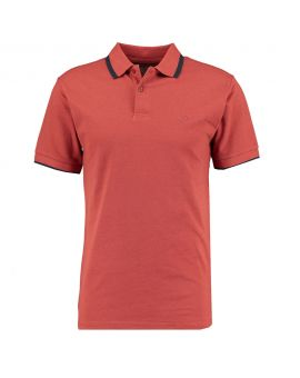 Heren polo Rood