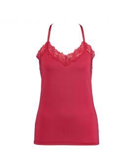 Dames hemd Rood