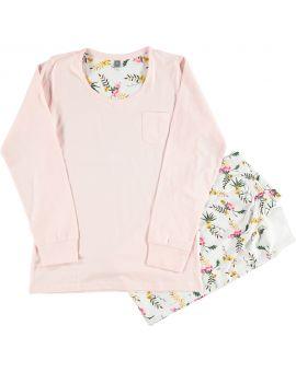 Dames pyjama Roze