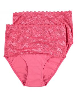 Dames tailleslip Roze