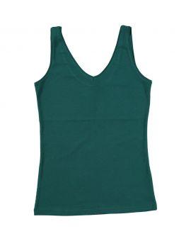 Dames singlet Groen