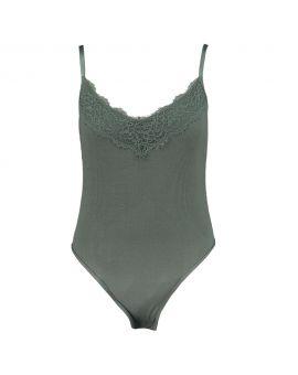 Dames body Groen