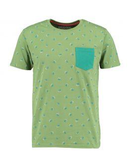 Heren T-shirt Groen