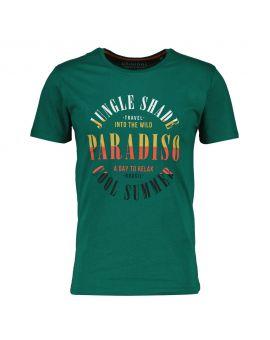 Heren T-shirt Donkergroen