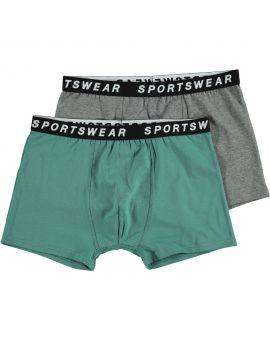 Sportswear heren boxer Groen