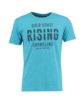 Heren T-shirt Nachtblauw