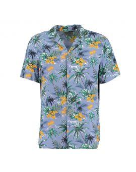 Heren overhemd Blauw