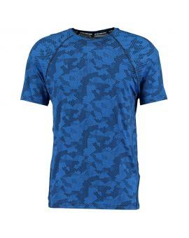Heren sport T-shirt Blauw