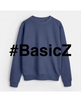 BasicZ sweater Nachtblauw