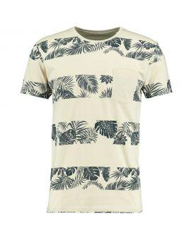 Heren T-shirt Zand