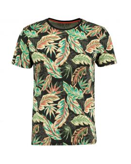 Heren T-shirt Beige