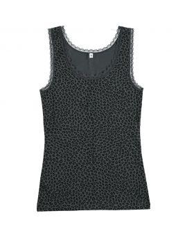 Dames hemd Antraciet