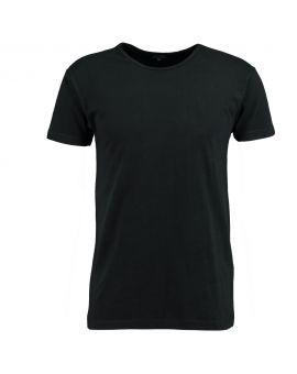 Heren T-shirt Ronde Hals Zwart