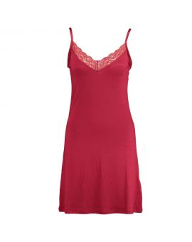 Dames sleepdress Rood
