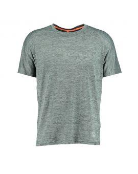 Heren sport T-shirt Grijs