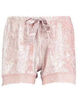 Dames pyjamashort Roze