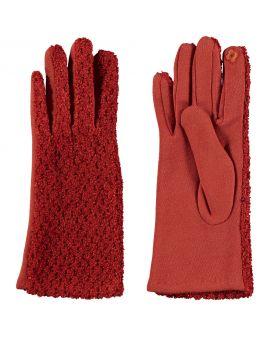 Dames handschoenen Rood