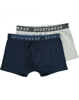 Sportswear heren boxer Nachtblauw