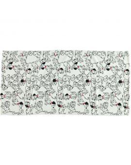 101 Dalmatiërs Microvezel handdoek Wit