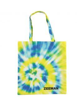 Zeeman Canvas tas Geel