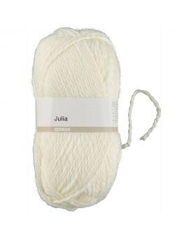Julia breigaren Gebroken wit