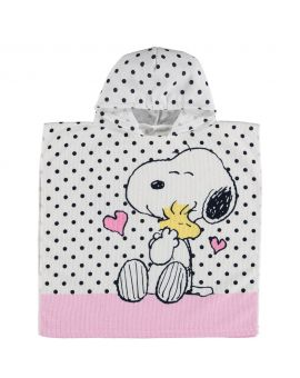 Snoopy Kinder poncho Assorti
