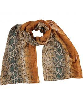 Dames sjaal Geel