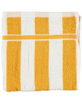 Milano handdoek Mango geel