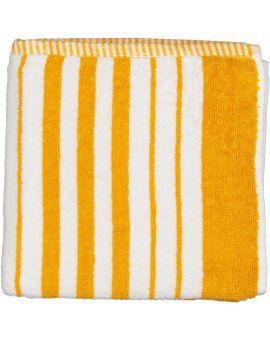 Bari handdoek Geel