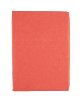 Jersey hoeslaken 2-persoons Oranje