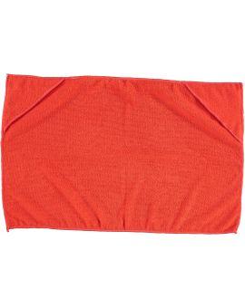 Dieren handdoek Rood