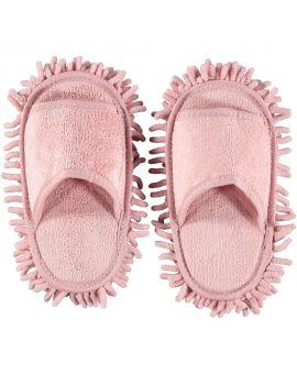 Chenille slippers Roze