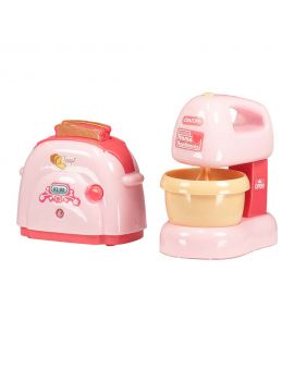 Speelgoed keukenset Roze