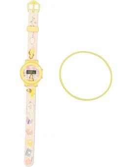 Belle Kinder horloge Geel
