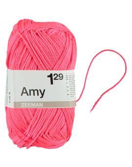 Amy haakgaren Neon roze
