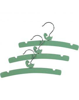 Baby kledinghangers Groen