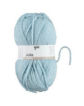 Julia breigaren Babyblauw